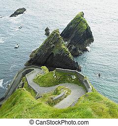 郡 kerry, 海景, アイルランド