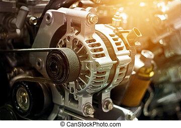 部分, カラフルである, 車エンジン