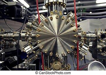 部分, 粒子加速器