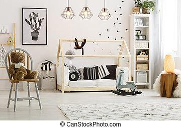 部屋, ベッド