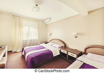 部屋, ホテル