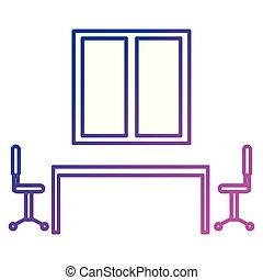 部屋, ミーティング, 現場, ビジネス, 板