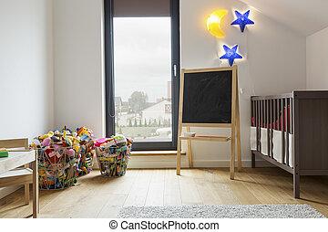 部屋, 保温カバー, 子供