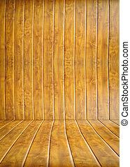 部屋, 木製である