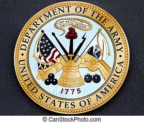 部門, ......的, the, 軍隊, 美國