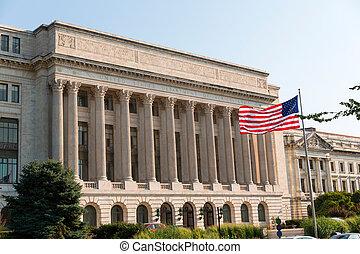 部門, dc, 美國, 華盛頓, 農業