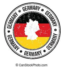 郵票, 德國