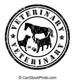 郵票, 獸醫