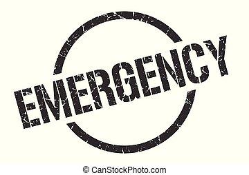 郵票, 緊急事件