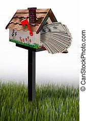 郵箱, 充分, ......的, 錢。