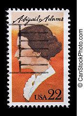 郵送料, 型, 記念する, 私達, 切手
