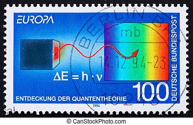 郵送料, 1994, 切手, マックス, ドイツ, planck
