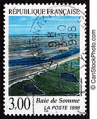 郵送料, somme, 切手, 1998, 湾, picardy, フランス