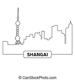 都市の景観, 上海