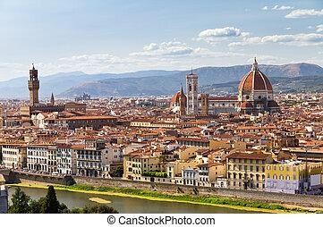 都市の景観, 川, フィレンツェ