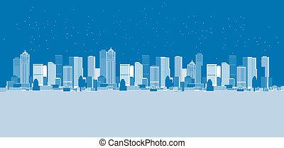 都市の景観, 背景, 都市, 芸術