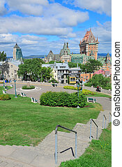 都市の景観, 都市, ケベック