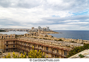 都市の景観,  Valletta, 光景