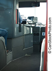 都市バス, 運転手, 席