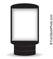 都市ライト, 広告板