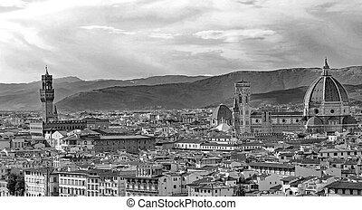 都市眺め, イタリア, フィレンツェのカテドラル