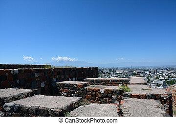 都市眺め, 台なし, erebuni