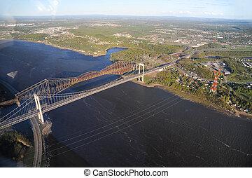 都市眺め, 航空写真, ケベック, 区域