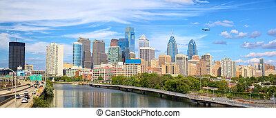 都市風景, 全景, 費城