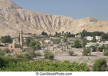 都市, の, jericho, イスラエル