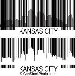 都市, カンザス, barcode