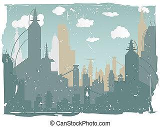 都市, グランジ