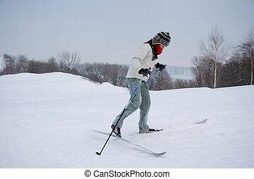 都市, ケベック, スキー