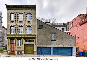 都市, ケベック, 建築