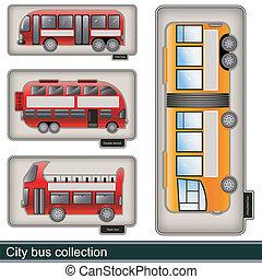 都市, コレクション, バス