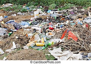 都市, ゴミ捨て場