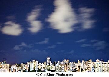 都市, サルバドール, 夜