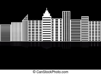 都市, シルエット