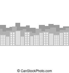 都市 スカイライン, イメージ, アイコン