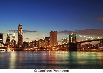 都市 スカイライン, マンハッタン, ヨーク, 新しい