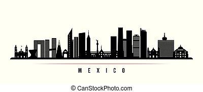 都市 スカイライン, メキシコ\, 横, banner.