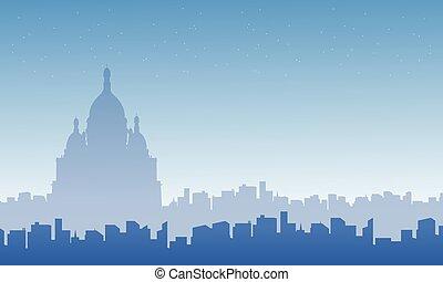 都市 スカイライン, 風景, コレクション, フランス