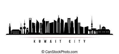 都市 スカイライン, banner., 横, クウェート