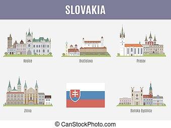 都市, スロバキア