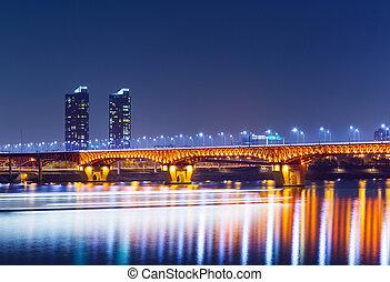 都市, ソウル, 夜