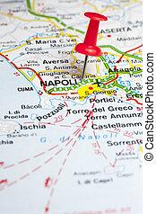 都市, ナポリ, 道路図