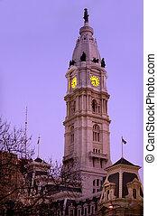 都市, フィラデルフィア, ホール