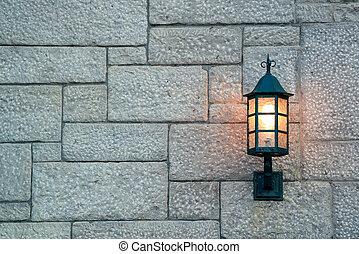 都市, ランプ, 通り, ケベック