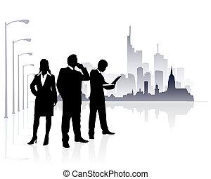 都市 人々