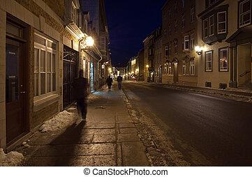 都市, 古い, ケベック