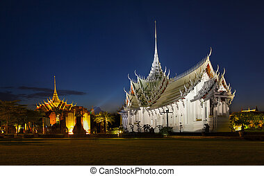 都市, 古代, samutparkan, シャム, thailand., ∥あるいは∥